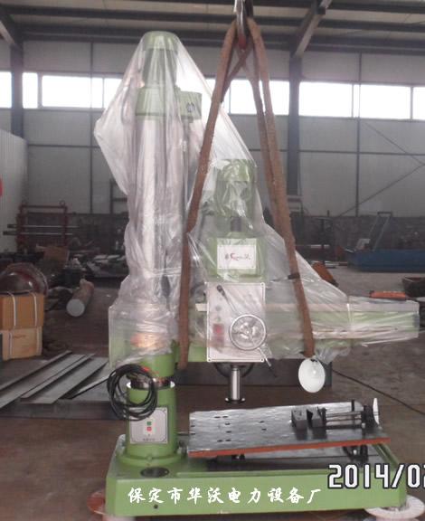 台式阀门研磨机操作说明-保定市华沃电力设备厂